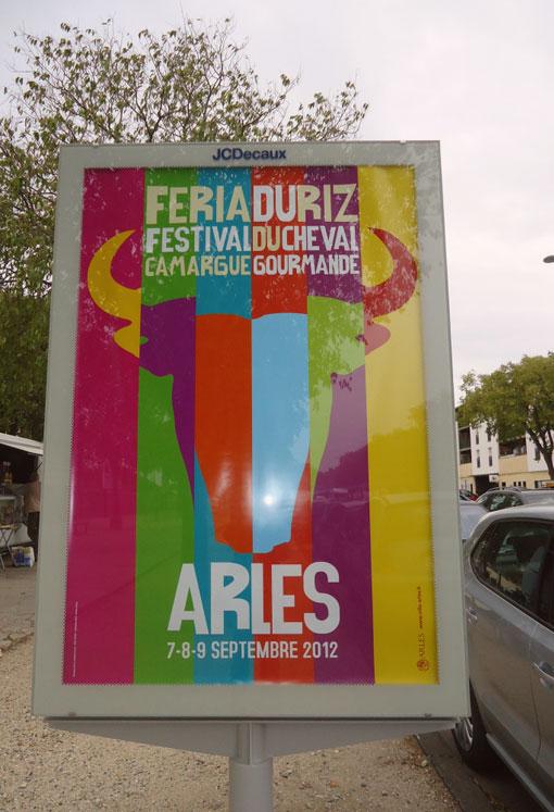 affiche féria 2012